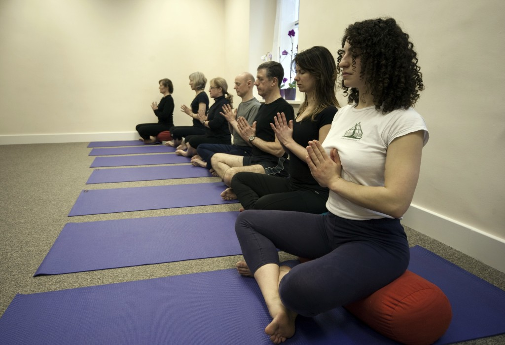 Yoga at the Natural Health Centre