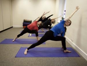 Yoga at the Natural Health Centre